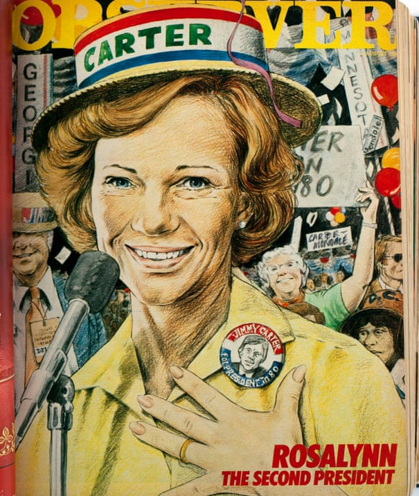 From the archive: the controversial influence of Rosalynn Carter, Jimmy's wife, 1980